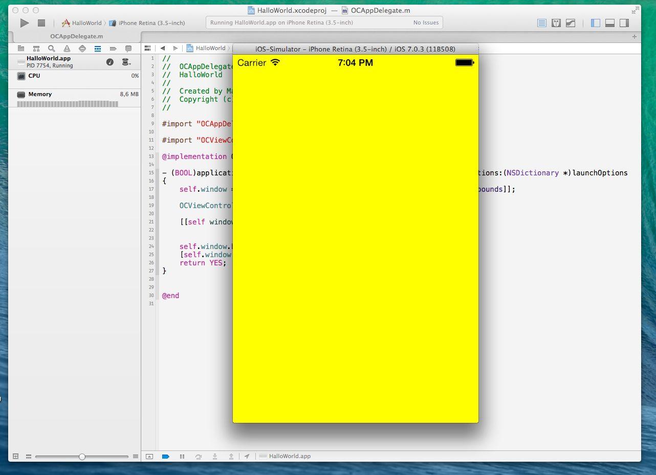 ObjectiveCeeds › iOS Tutorial: \